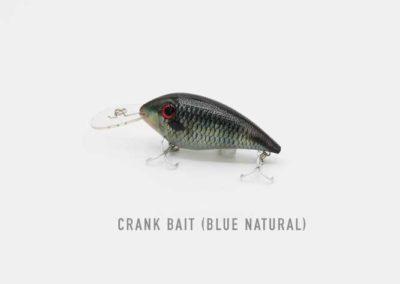 Crank Bait Blue Natural