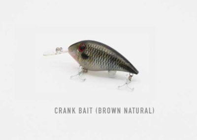 Crank Bait Natural Brown