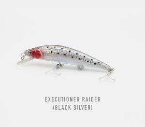executioner raider black silver