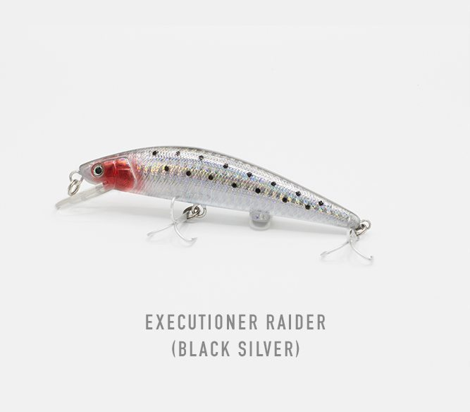 executioner raider black silver