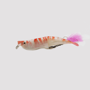 Twitching Lure Shrimp Pink Spicy Camaron