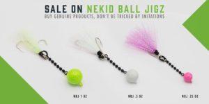 Nekid Ball Jigz Sale Promo